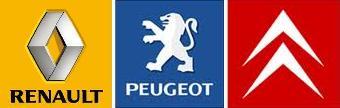 French Car Maker Logos
